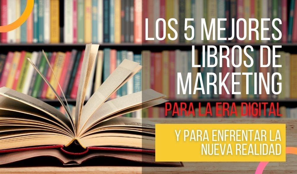 5 LIBROS DE MARKETING