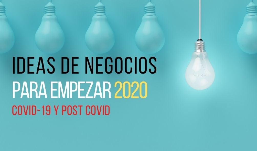 Ideas negocios covid